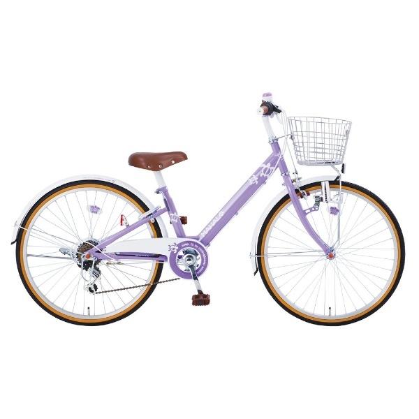【送料無料】 タマコシ 22型 子供用自転車 マハロジュニアV226(パープル/6段変速)【組立商品につき返品不可】 【代金引換配送不可】