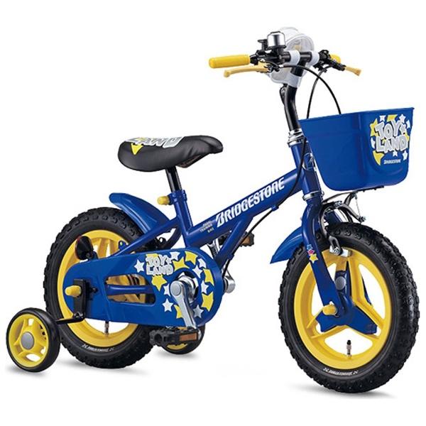 【送料無料】 ブリヂストン 12型 幼児用自転車 トイランドスタンダード(ブルー/シングルシフト) TLS12【組立商品につき返品不可】 【代金引換配送不可】