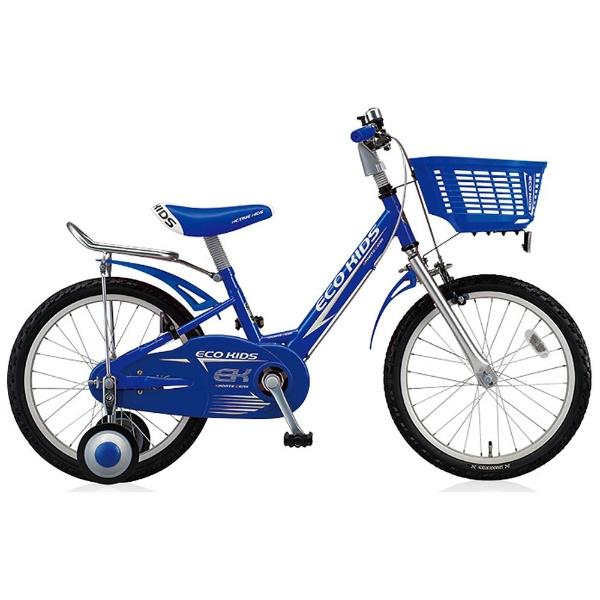 【送料無料】 ブリヂストン 16型 幼児用自転車 エコキッズスポーツ(ブルー/シングルシフト) EK16S6【組立商品につき返品不可】 【代金引換配送不可】