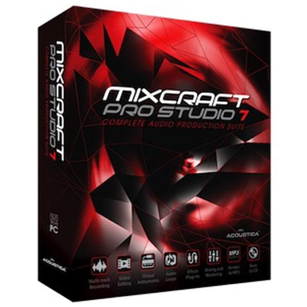 【送料無料】 ACOUSTICA ACOUSTICA 〔Win版〕 Mixcraft Pro Studio 7[MIXCRAFTPRO7]