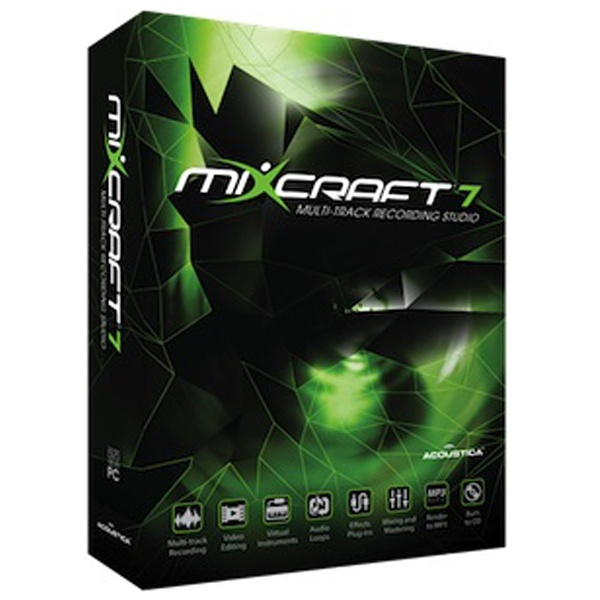 【送料無料】 ACOUSTICA ACOUSTICA 〔Win版〕 Mixcraft 7[MIXCRAFT7]