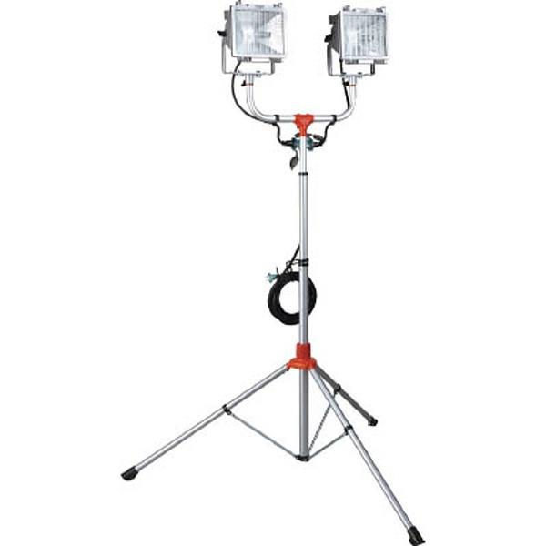 【送料無料】 ハタヤリミテッド 防雨型スタンド付ハロゲンライト 300W×2灯 100V接地付電線5m PHCX305KN《※画像はイメージです。実際の商品とは異なります》