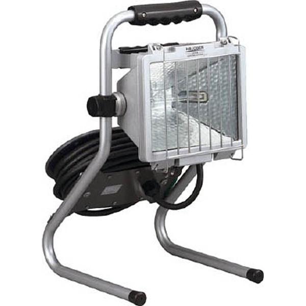 【送料無料】 ハタヤリミテッド 防雨型ドラムスタンドハロゲンライト 500W 100V接地付電線7m PHD507KN