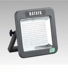 【送料無料】 ハタヤリミテッド 充電式LEDケイ・ライト 屋外用 白色LED180個(10W) LWK10
