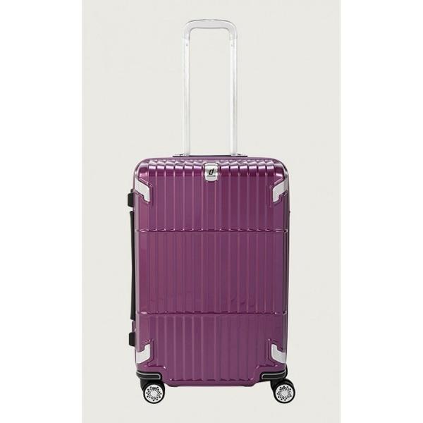 【送料無料】 ディパーチャー TSAロック搭載スーツケース Departure(33L) HD-502-22 シャイニングパープル[HD50222] 【メーカー直送・代金引換不可・時間指定・返品不可】