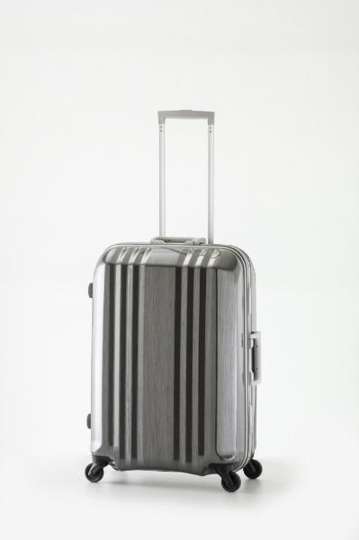 【送料無料】 デカかる2 TSAロック搭載スーツケース デカかる2(49L) MM-5288 ガンメタブラッシュ 【メーカー直送・代金引換不可・時間指定・返品不可】