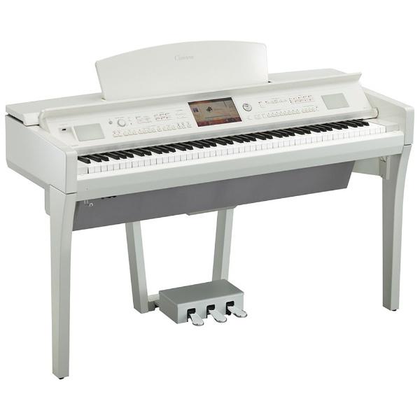【標準設置費込み】 ヤマハ 電子ピアノ CVP-709PWH 白鏡面艶出し仕上げ [88鍵盤 /Clavinova(ヤマハ)][CVP709PWH] 【代金引換配送不可】