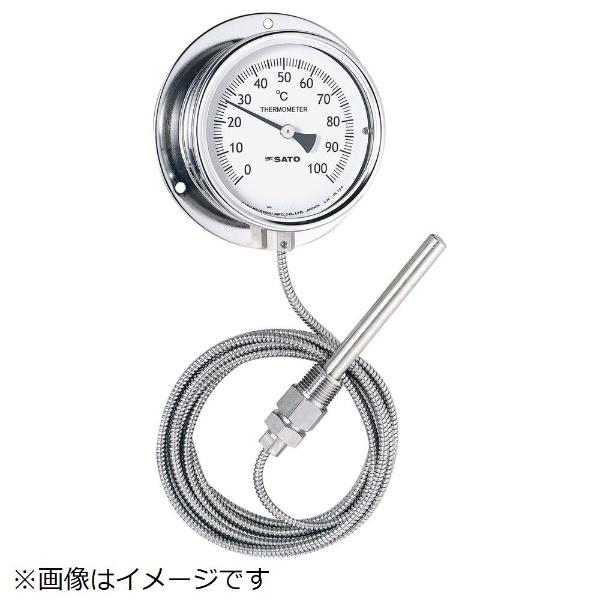 【送料無料】 佐藤計量器製作所 隔測指示温度計 LB100S5《※画像はイメージです。実際の商品とは異なります》
