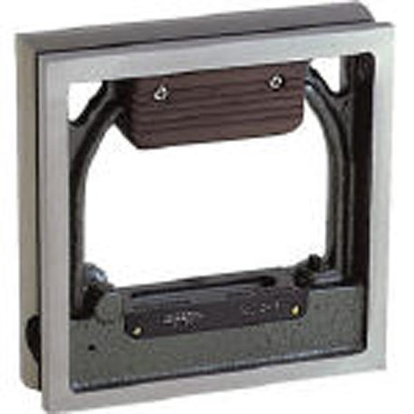 【送料無料】 トラスコ中山 角型精密水準器 B級 寸法150×150 感度0.02 TSLB1502