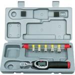 【送料無料】 京都機械工具(KTC) 9.5sq.ソケットレンチセット デジラチェモデル[6点組] TB306WG2