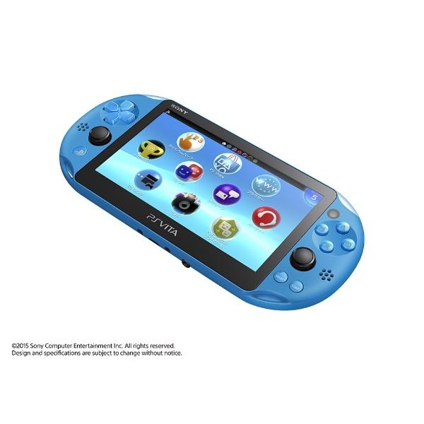 【送料無料】 ソニーインタラクティブエンタテインメント PlayStation Vita (プレイステーション・ヴィータ) Wi-Fiモデル PCH-2000 アクア・ブルー [ゲーム機本体]