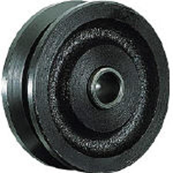 【送料無料】 丸喜金属 マルコン枠無重量車 150mm V型 C2100150