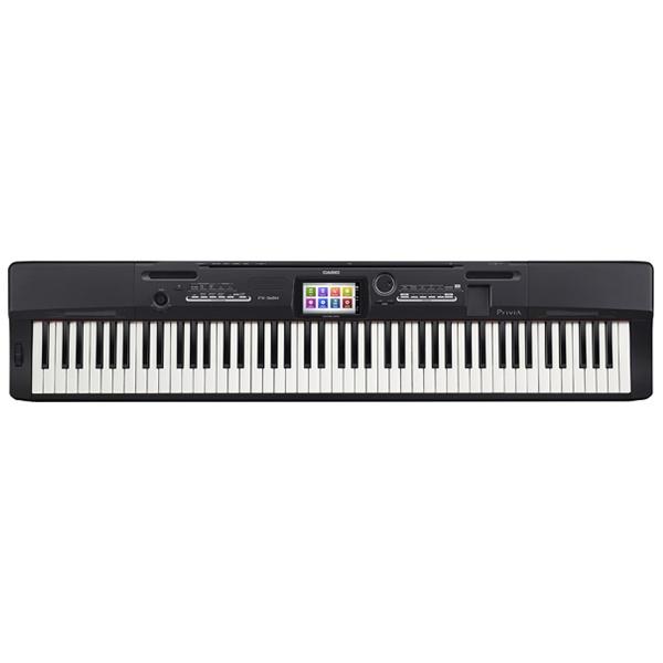 【送料無料】 カシオ PX-360MBK 電子ピアノ Privia ソリッドブラック調 [88鍵盤][PX360MBK]