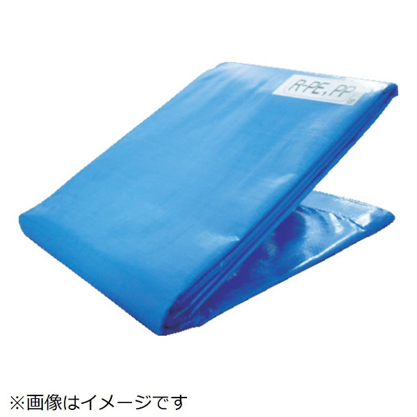【送料無料】 萩原工業 エコファミリーシートブルー 9.0m×9.0m ECFM9090《※画像はイメージです。実際の商品とは異なります》