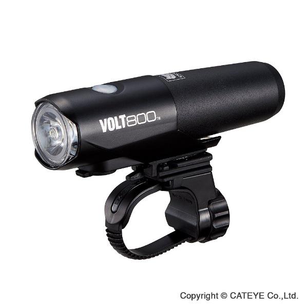 【送料無料】 キャットアイ USB充電式LEDヘッドライト VOLT800(ブラック) HLEL471RC[HLEL471RC]