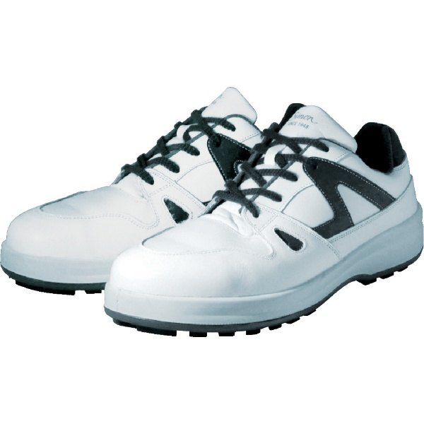 【送料無料】 シモン 安全靴 短靴 8611白/ブルー 28.0cm 8611WB28.0