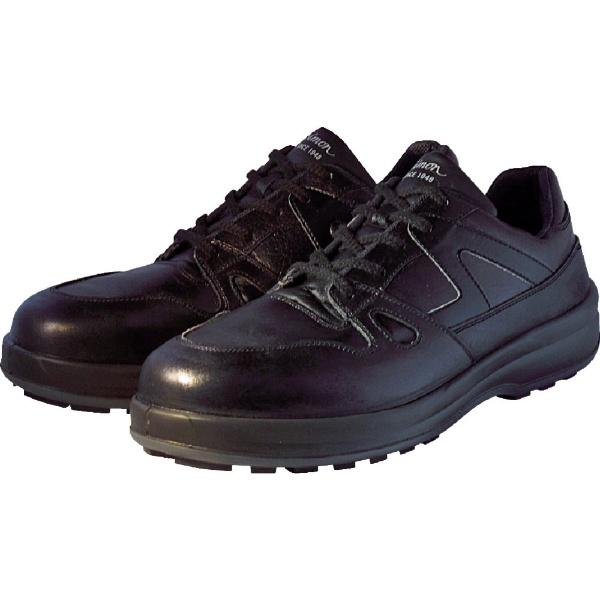 【送料無料】 シモン 安全靴 短靴 8611黒 24.0cm 8611BK24.0