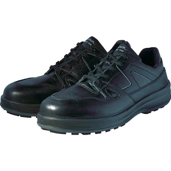 【送料無料】 シモン 安全靴 短靴 8611黒 25.5cm 8611BK25.5