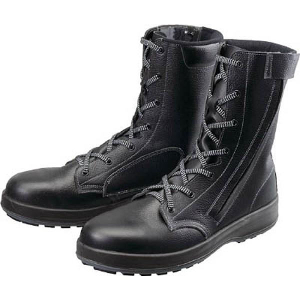 【送料無料】 シモン 安全靴 長編上靴 WS33黒C付 27.0cm WS33C27.0