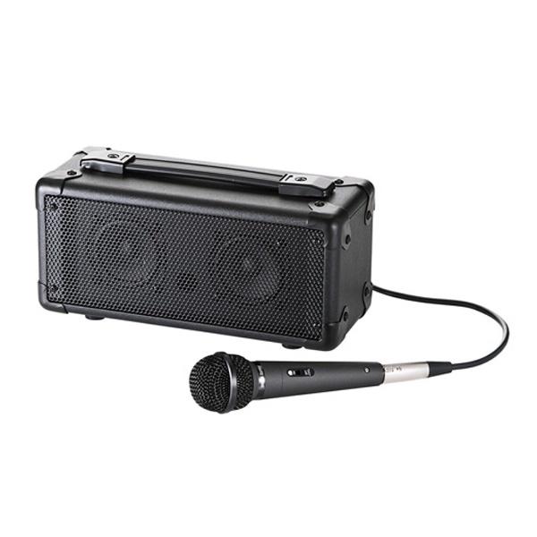 【送料無料】 サンワサプライ マイク付き拡声器スピーカー MM-SPAMP【受発注・受注生産商品】[MMSPAMP]