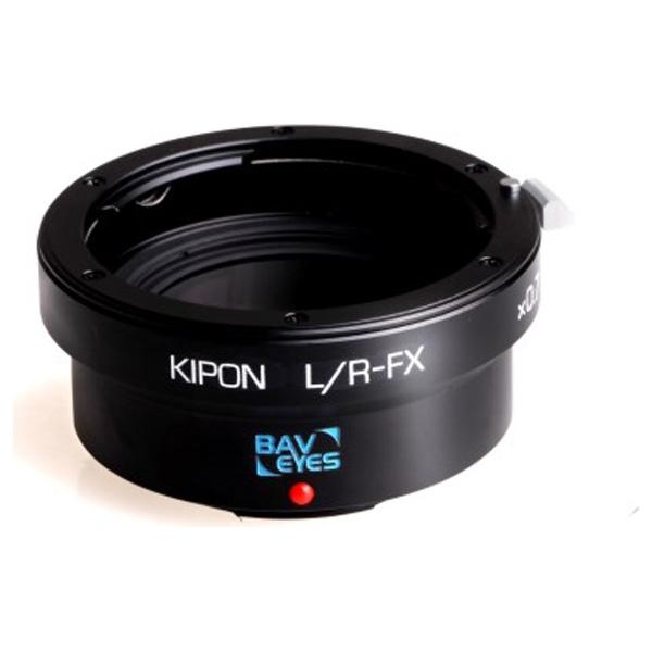 【送料無料】 KIPON マウントアダプター Baveyes L/R-FX x0.7【ボディ側:富士フイルムX/レンズ側:ライカR】[BAVEYESLRFX]