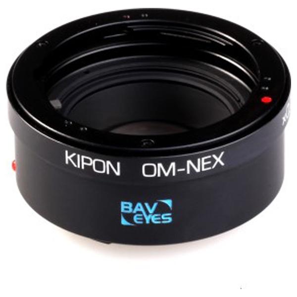 【送料無料】 KIPON マウントアダプター Baveyes OM-NEX x0.7【ボディ側:ソニーE/レンズ側:オリンパスOM】[BAVEYESOMNEX]
