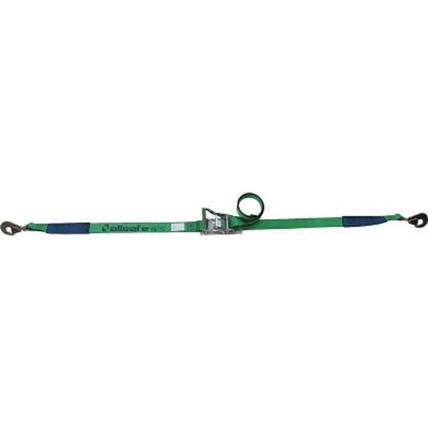 【送料無料】 オールセーフ ベルト荷締機 ラチェット式ツイストスナップフック仕様(重荷重) R5TH15