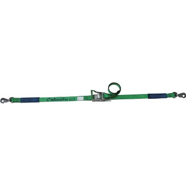 【送料無料】 オールセーフ ベルト荷締機 ラチェット式回転スナップフック(重荷重) R5SSH15