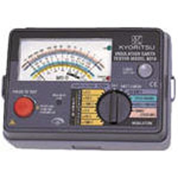 【送料無料】 共立電気計器 アナログ式絶縁・接地抵抗計 MODEL6017