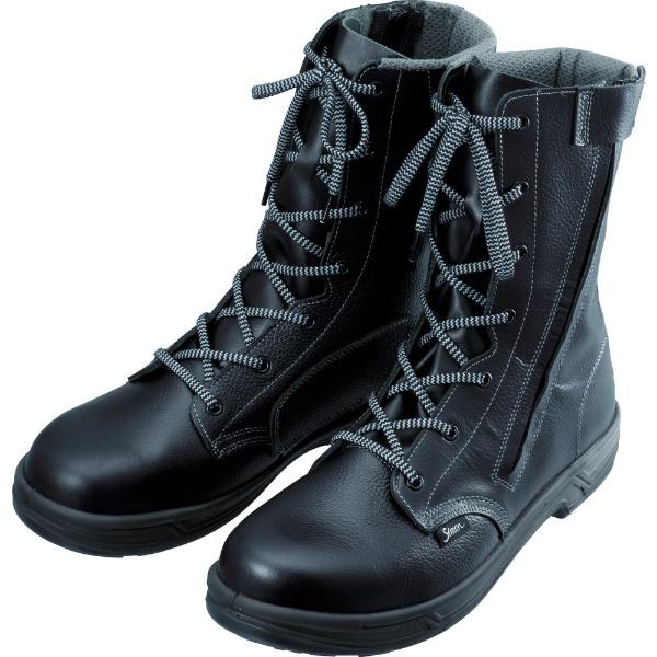 【送料無料】 シモン 安全靴 長編上靴 SS33C付 23.5cm SS33C23.5