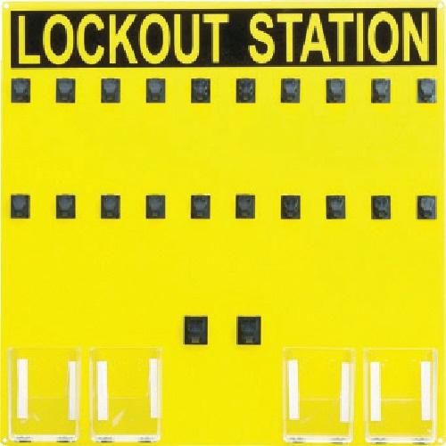 【送料無料】 パンドウイット ロックアウトステーション 20人用 PSL20SA