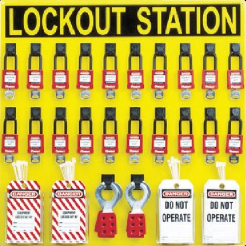 【送料無料】 パンドウイット ロックアウトステーションキット 20人用 PSL20SWCA