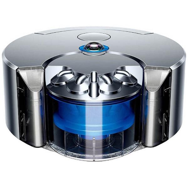 【送料無料】 ダイソン dyson ロボット掃除機 「Dyson 360 eye」 RB01 ニッケル/ブルー[RB01NB]