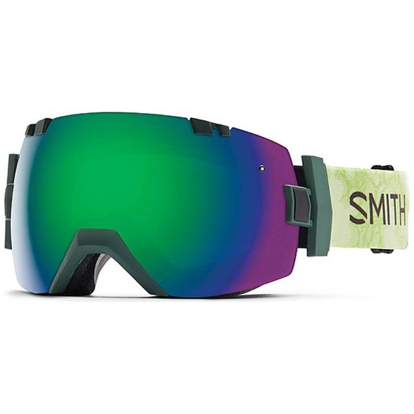 【送料無料】 スミス SMITH SMITH I/O X(Vagabond/Green Sol-X Mirror、Red Sensor Mirror)