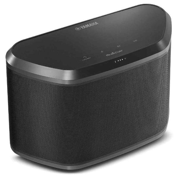 【送料無料】 ヤマハ YAMAHA Bluetooth/WiFi対応 ワイヤレスストリーミングスピーカー (ブラック)  WX-030(B)