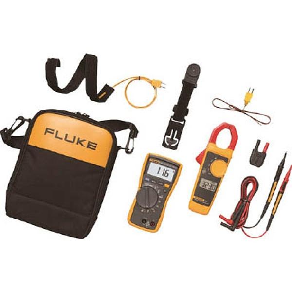 【送料無料】 TFFフルーク社 FLUKE 電気設備用マルチメーター116/323HVACコンボキット 116/323