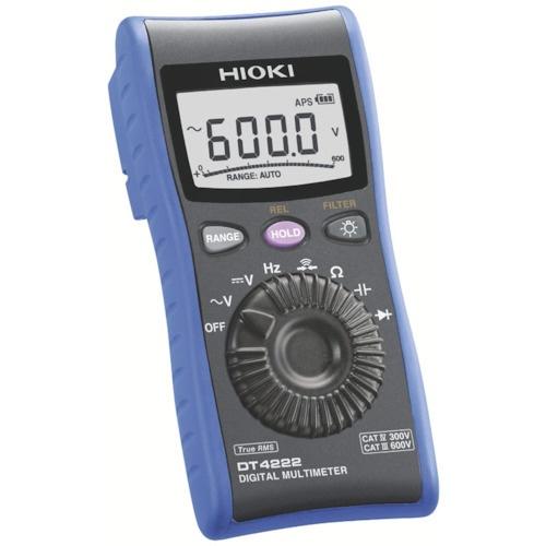 【送料無料】 日置電機 HIOKI デジタルマルチメータ DT4222 DT4222
