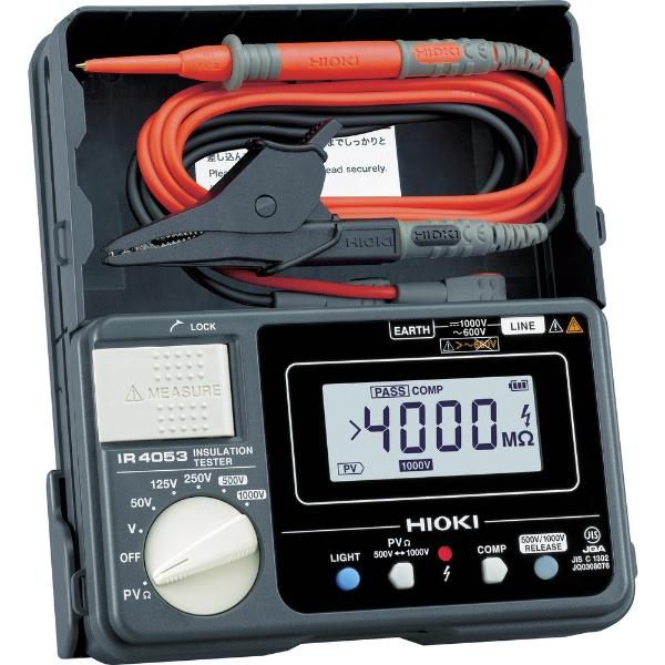 【送料無料】 日置電機 HIOKI 太陽光発電システム用絶縁抵抗計IR4053-10 IR4053-10