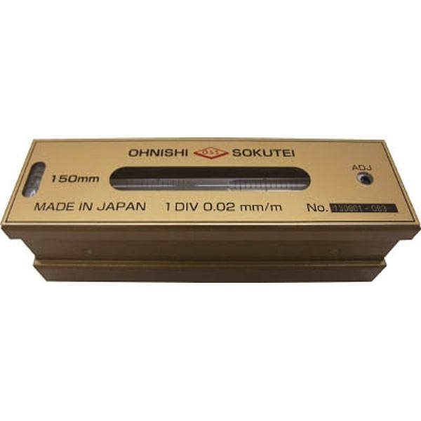 【送料無料】 大西測定 OSS 平形精密水準器(一般工作用)100mm 201-100