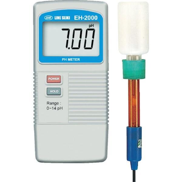 【送料無料】 ライン精機 ライン精機 デジタルPH計 EH-2000