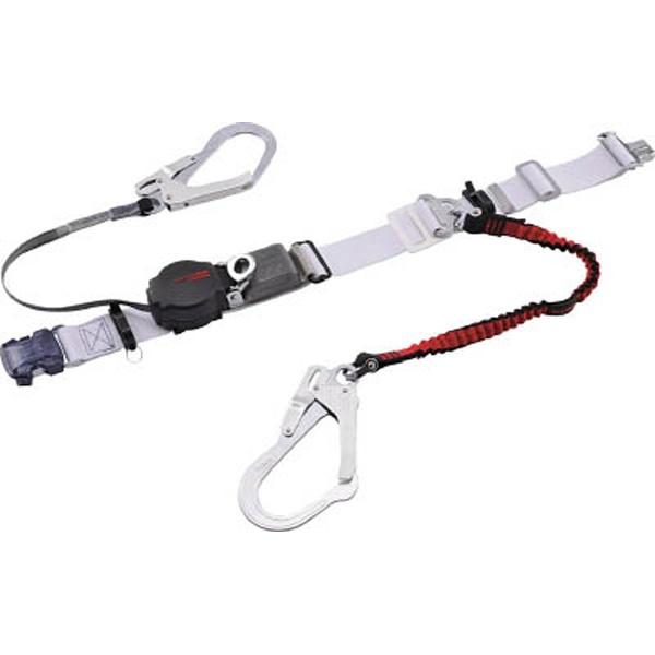 【送料無料】 藤井電工 ツヨロン なでしこツイン安全帯 OT式 ワンハンドリトラ・ノビロン 赤色 S寸 ORL-2-OT93-NVRE-R-S-BP