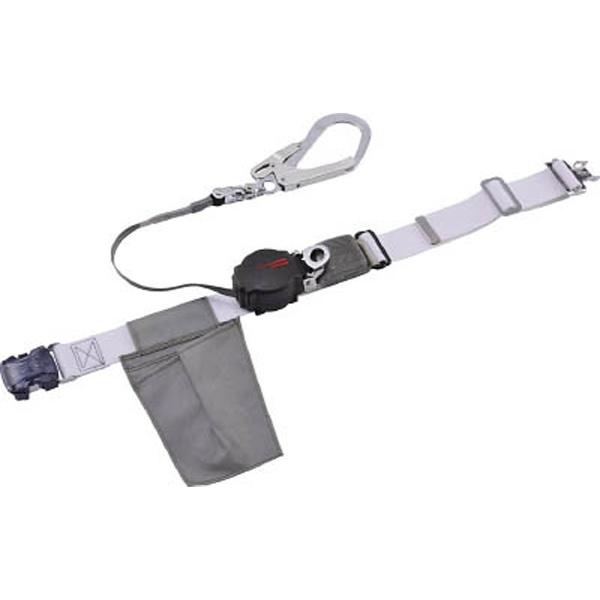 【送料無料】 藤井電工 ツヨロン なでしこ安全帯 OTバックル式 ワンハンドリトラ 黒色 S寸 ORL-OT593SV-BLK-S-BP