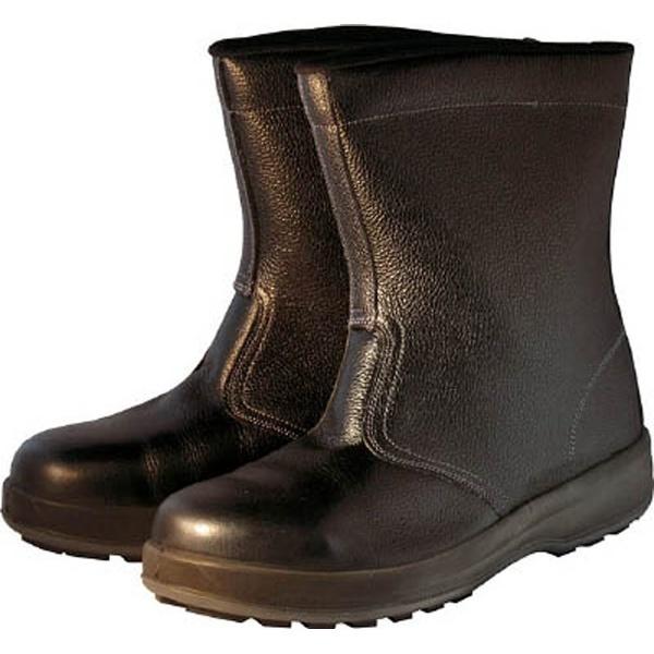 【送料無料】 シモン シモン 安全靴 半長靴 WS44黒 25.0cm WS44BK-25.0