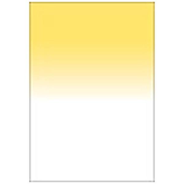 【送料無料】 LEE LEEリーフォトグラフィック樹脂フィルター 100X150mm角 ハーフカラーグラデーションイエロー