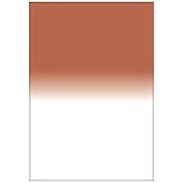 【送料無料】 LEE LEEリーフォトグラフィック樹脂フィルター 100X150mm角 ハーフカラーグラデーションセピアNo.2