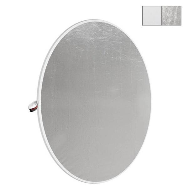 【送料無料】 フォトフレックス ライトディスクN ホワイト/シルバー 52 132cm DL1352WS