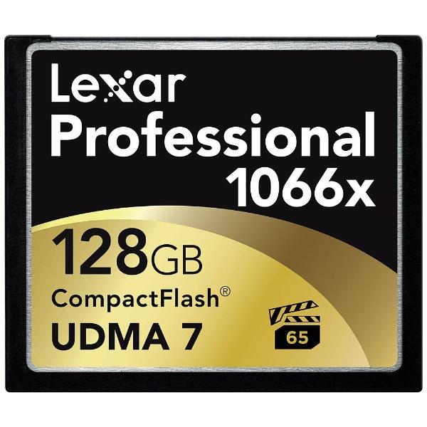 【送料無料】 レキサー 128GBコンパクトフラッシュ LCF128CRBJP1066[LCF128CRBJP1066][c-ksale]