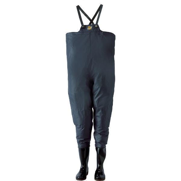 【送料無料】 ロゴス クレモナ水産 胴付き長靴 鉄紺 28.0cm 10068280