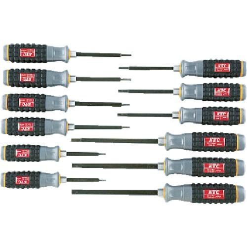 【送料無料】 京都機械工具(KTC) 樹脂柄T型トルクスドライバセット[12本組] TD1T12