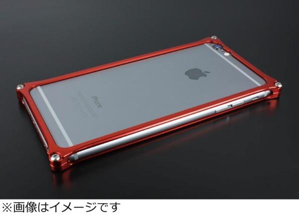 【送料無料】 GILDDESIGN iPhone 6s Plus/6 Plus用 ソリッドバンパー レッド 41459 GI-252R